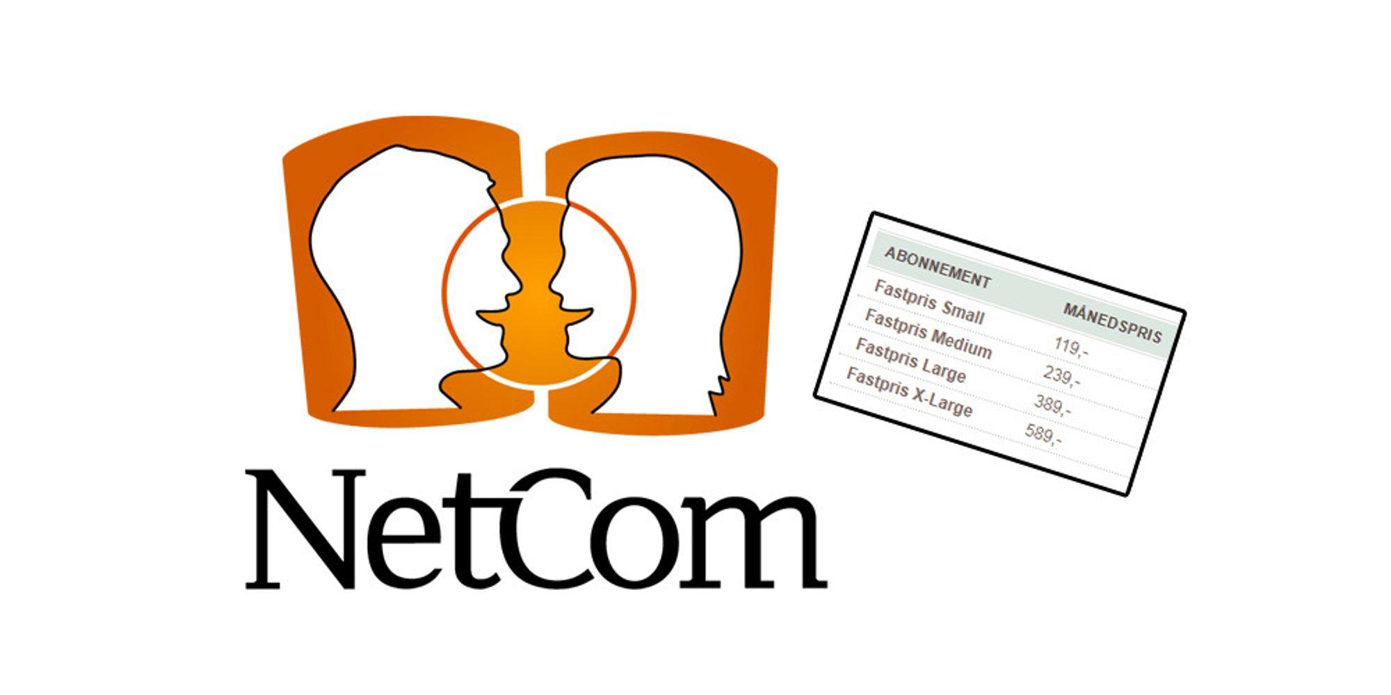 Netcom kjører ut fastpris for alle