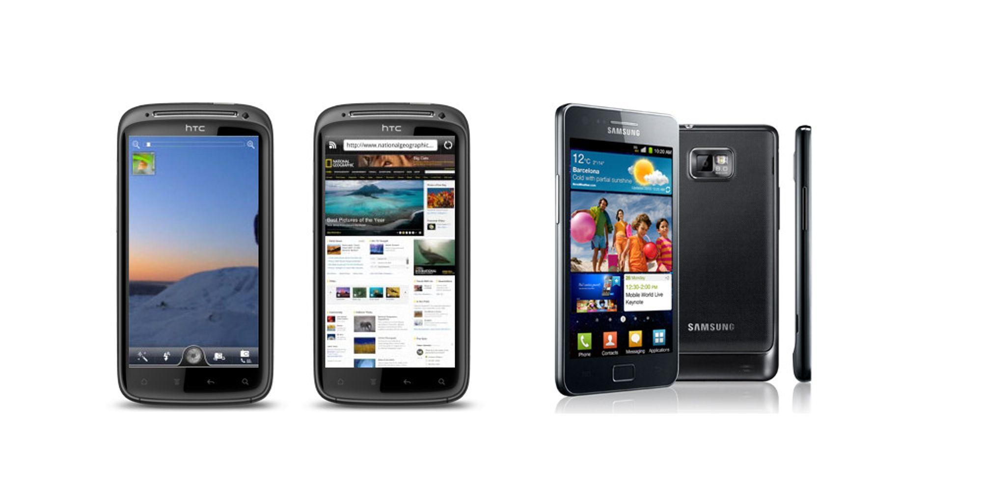 Samsung Galaxy S II dominerer ytelsestester