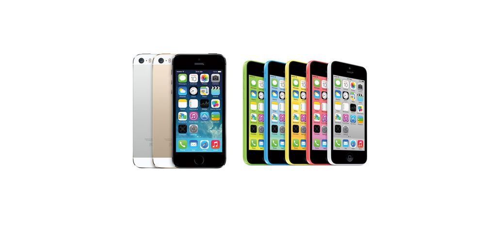 Nå kommer iPhone 5S og 5C til Norge