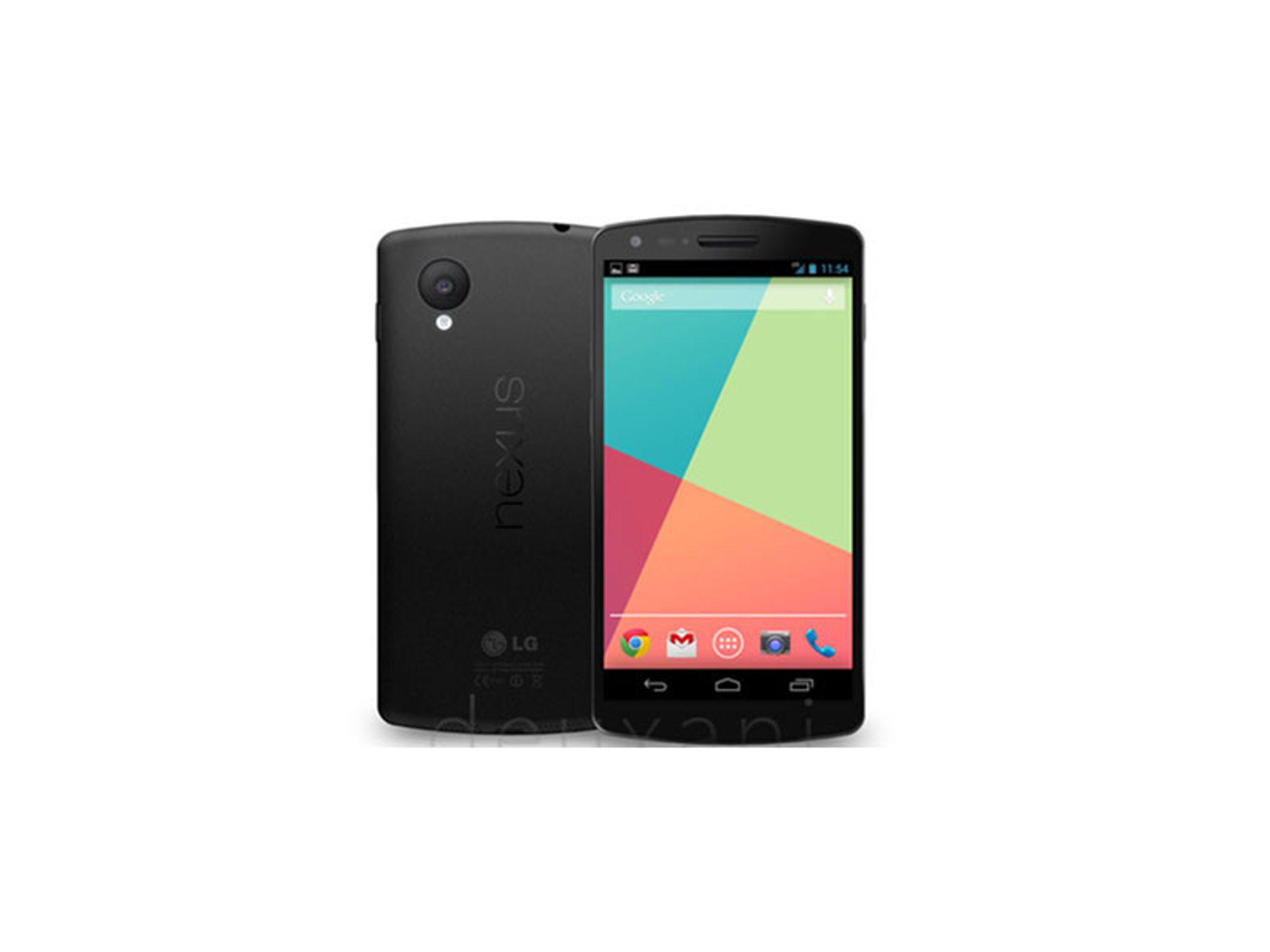 Nexus 5: Dette kan være spesifikasjonene