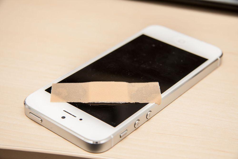 Apple tetter iOS 7-hullet