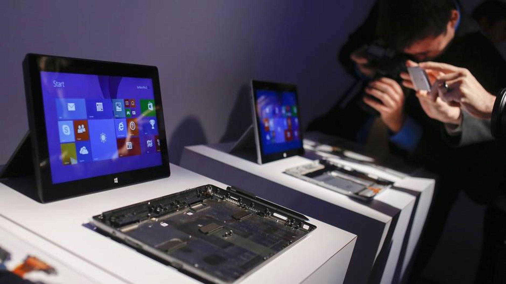Microsoft lanserer nye Surface-brett