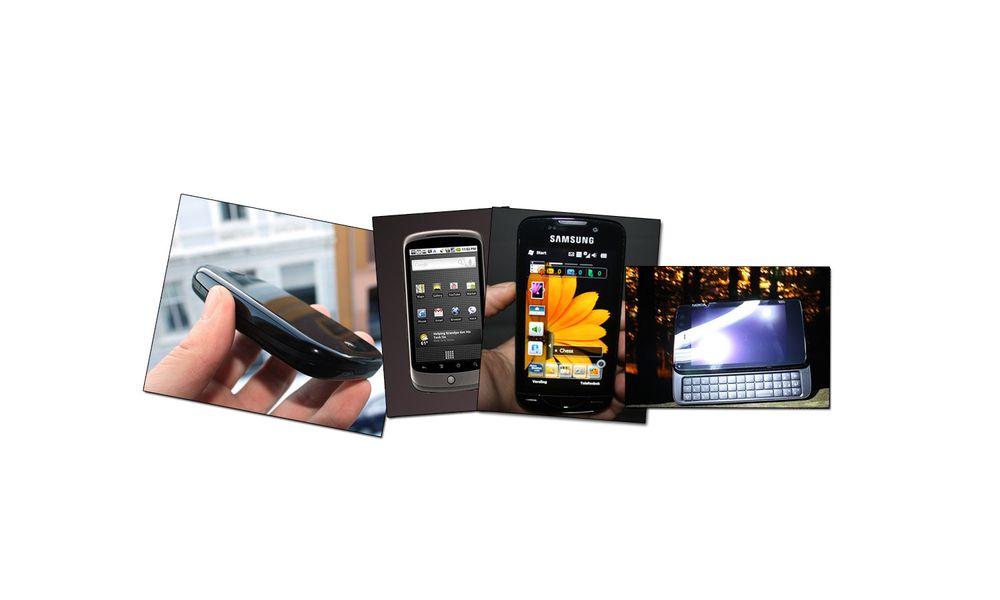 TEST: 4 mobiler som var en stor greie for 4 år siden
