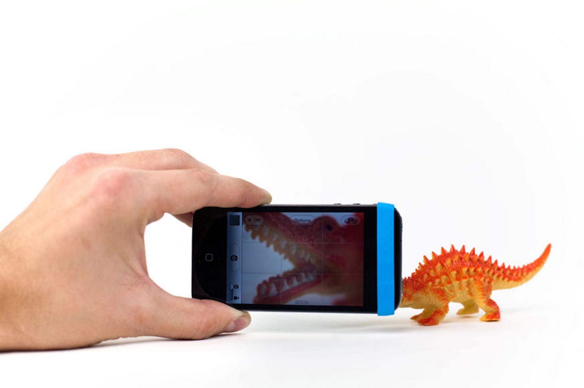 Nærbilder med alle mobiler