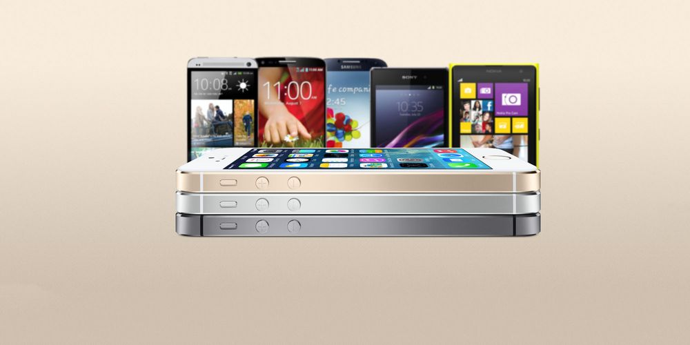 iPhone 5S: Slik måler den seg