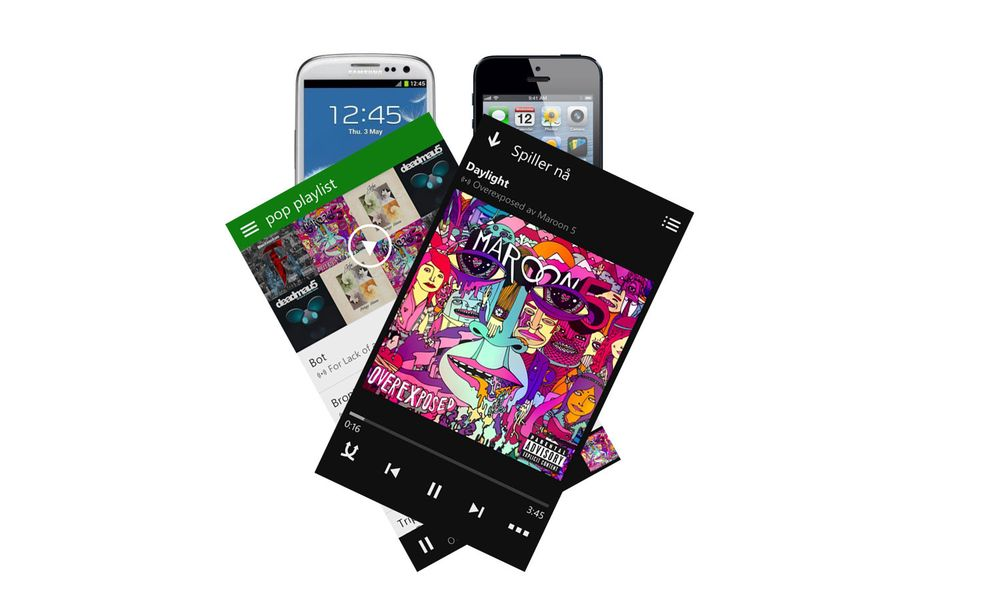 Xbox Music ute på Android og iOS