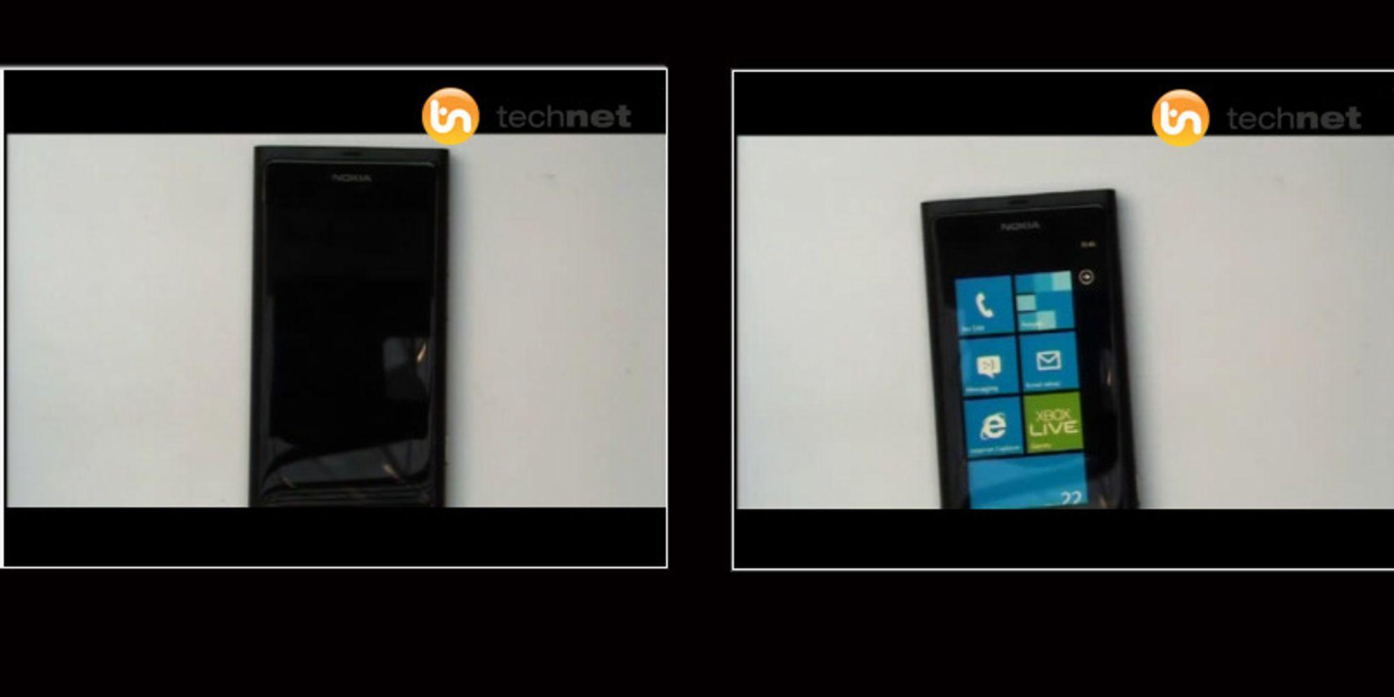 Nokias første Windows-telefon lekket