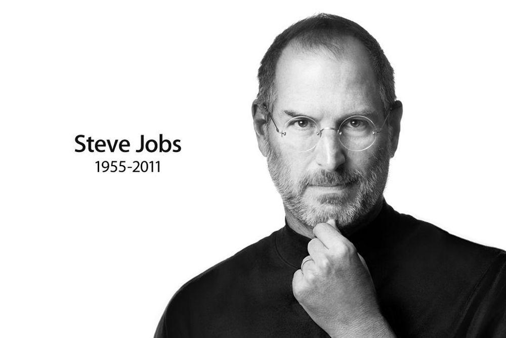 Steve Jobs hylles som visjonær leder