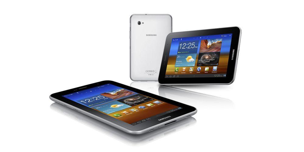 Samsung lanserer turboversjon av Tab 7