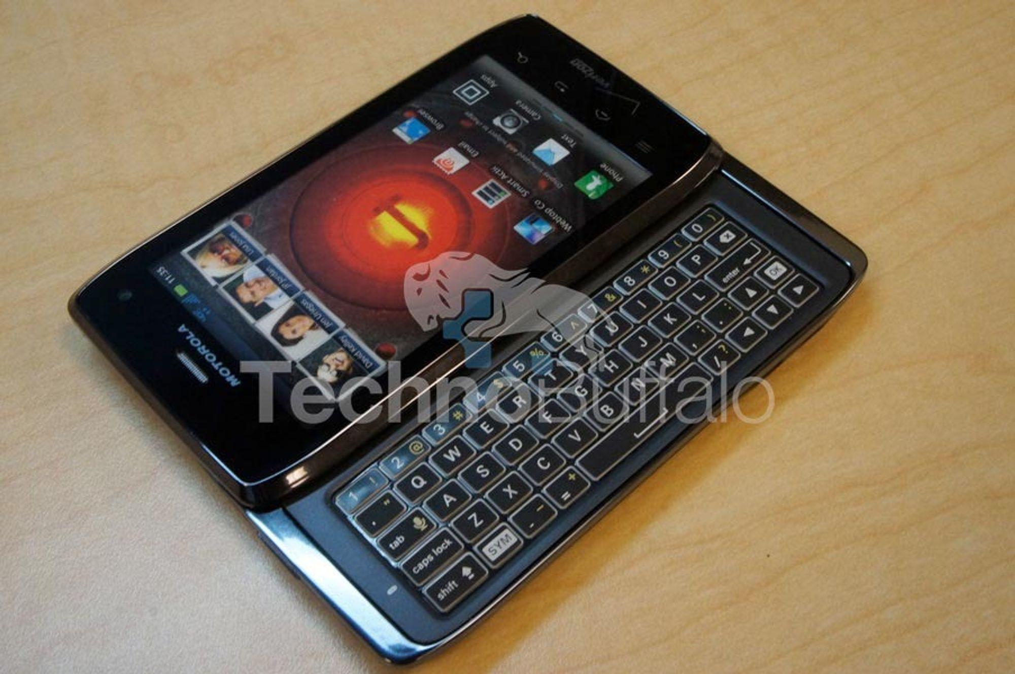 Qwerty-beist fra Motorola