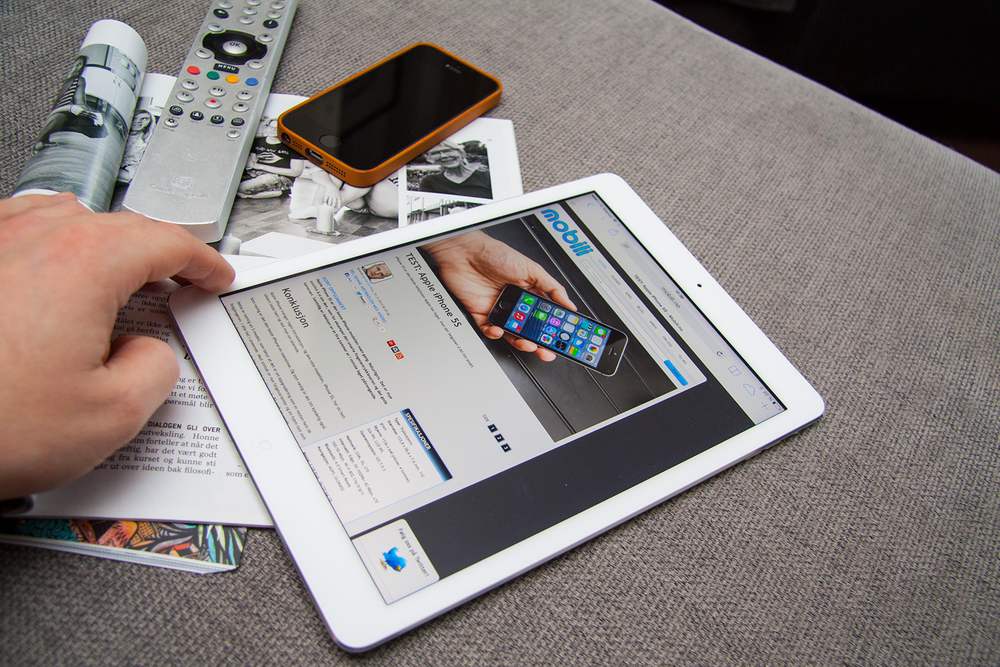 TEST: TEST: Apple iPad Air