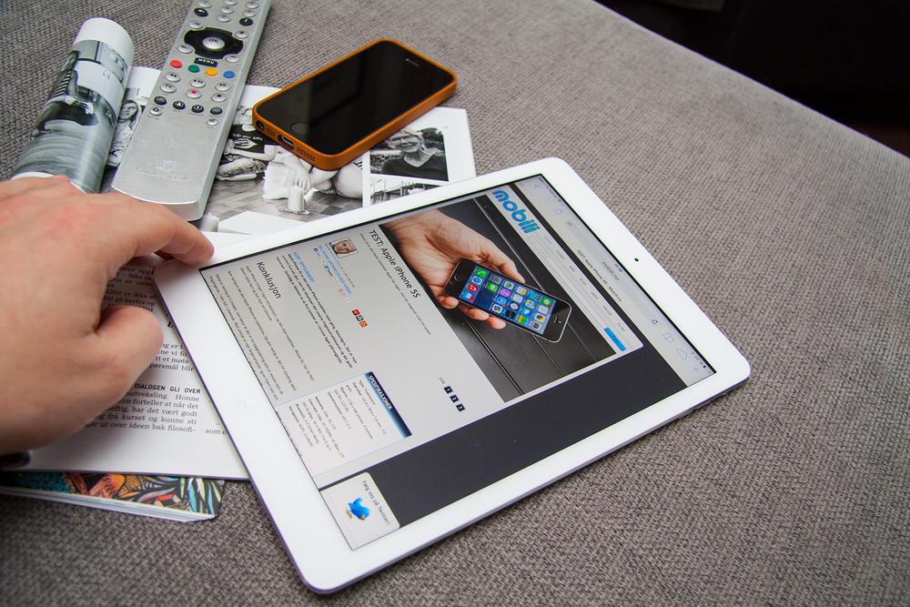 TEST: TEST: Apple iPad Air
