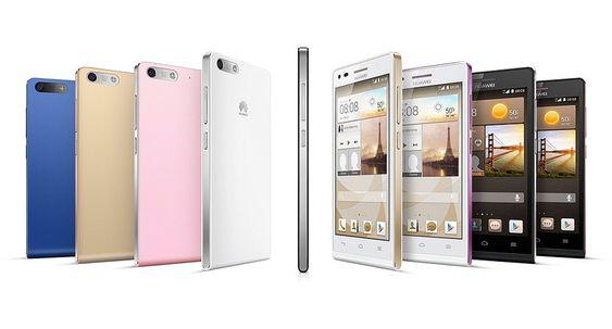 Ascend G6: Pen ja, men den nye telefonen fra Huawei kommer til et smekkfullt marked.