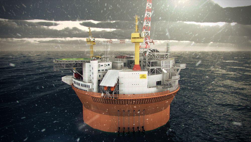 ENI må få plassert Goliat FPSOen i Barentshavet før vinterstormene begynner å herje.