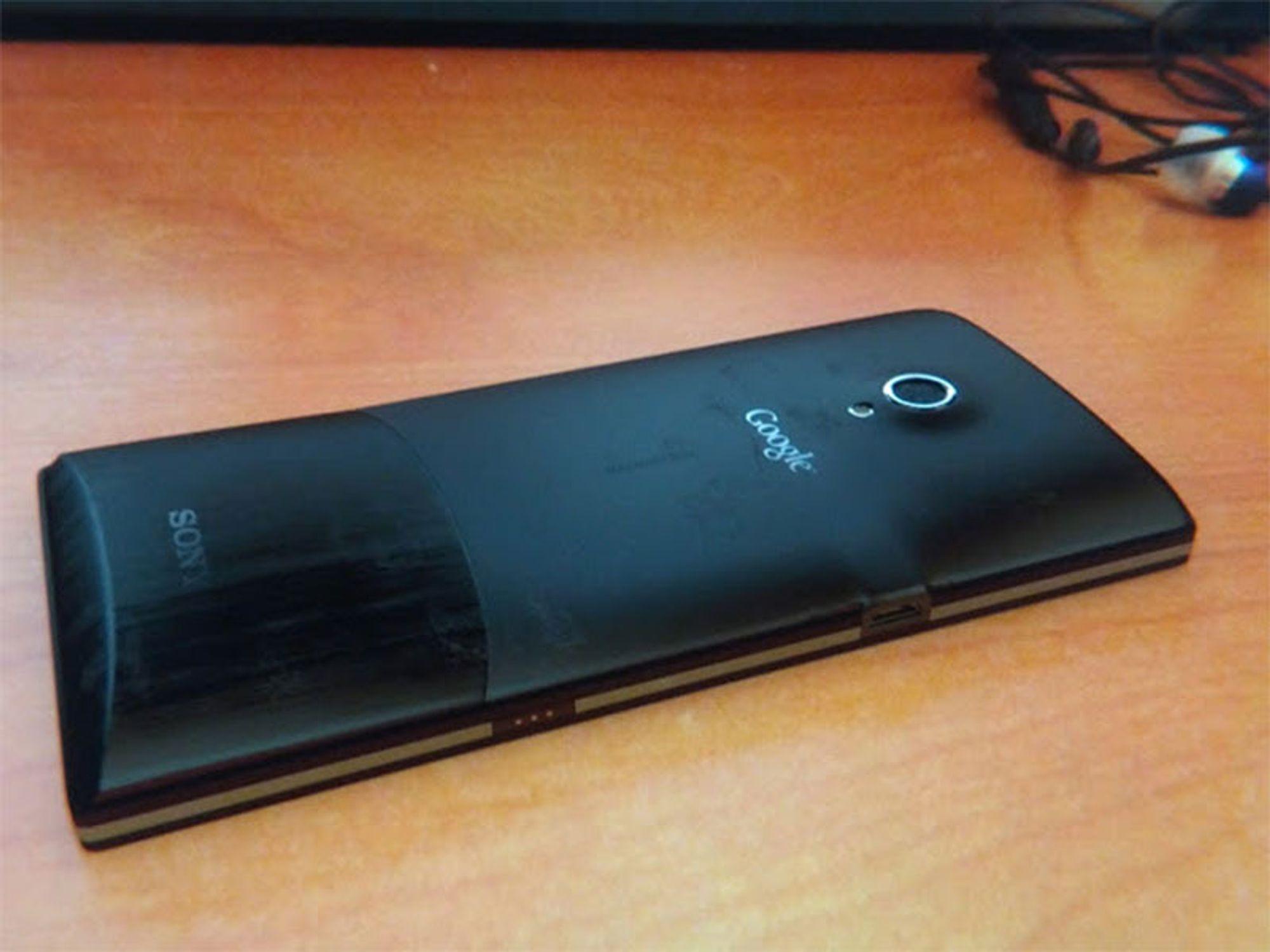 Nexus-telefon fra Sony også?