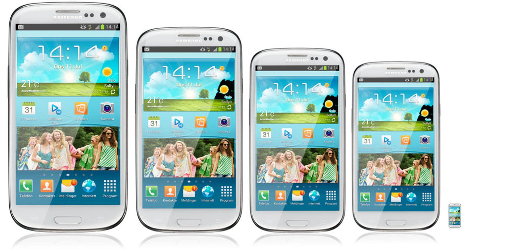 Kommer Galaxy S III Mini om en uke?