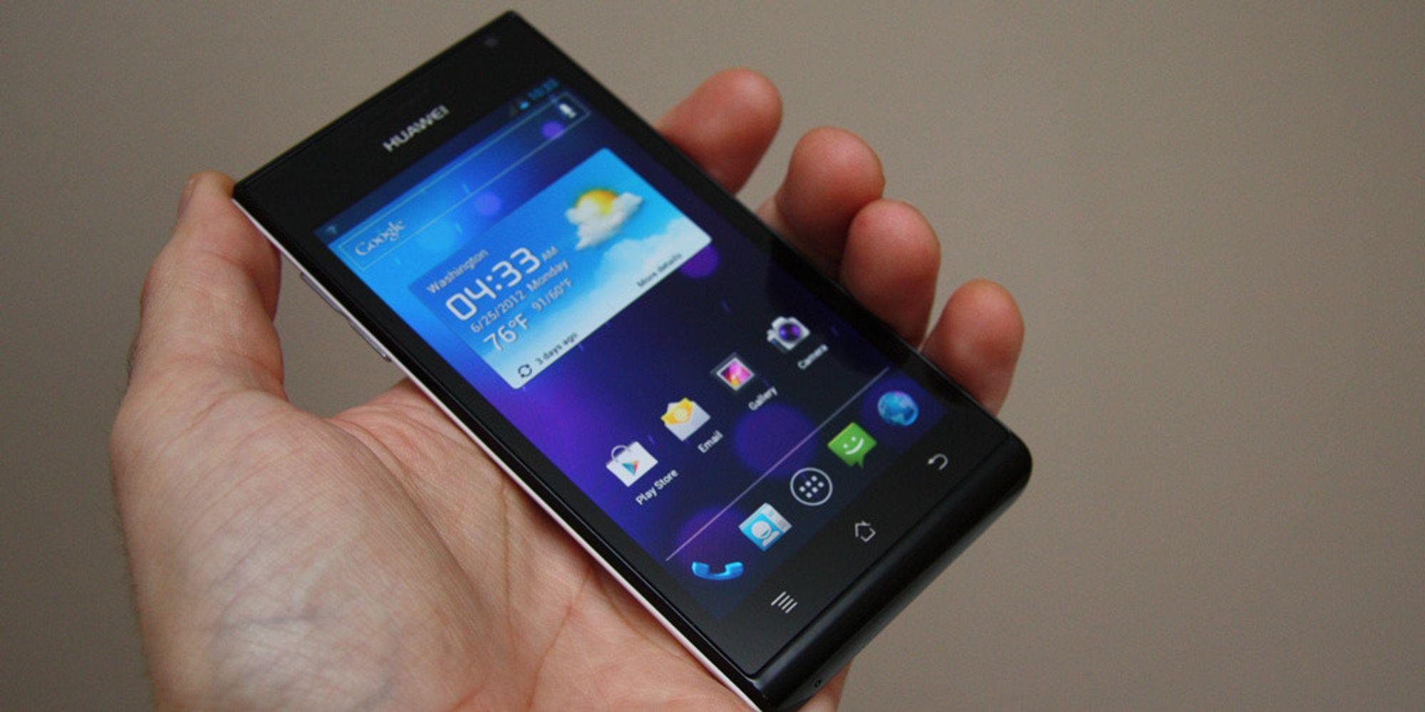 Huawei planlegger egen mobilplattform