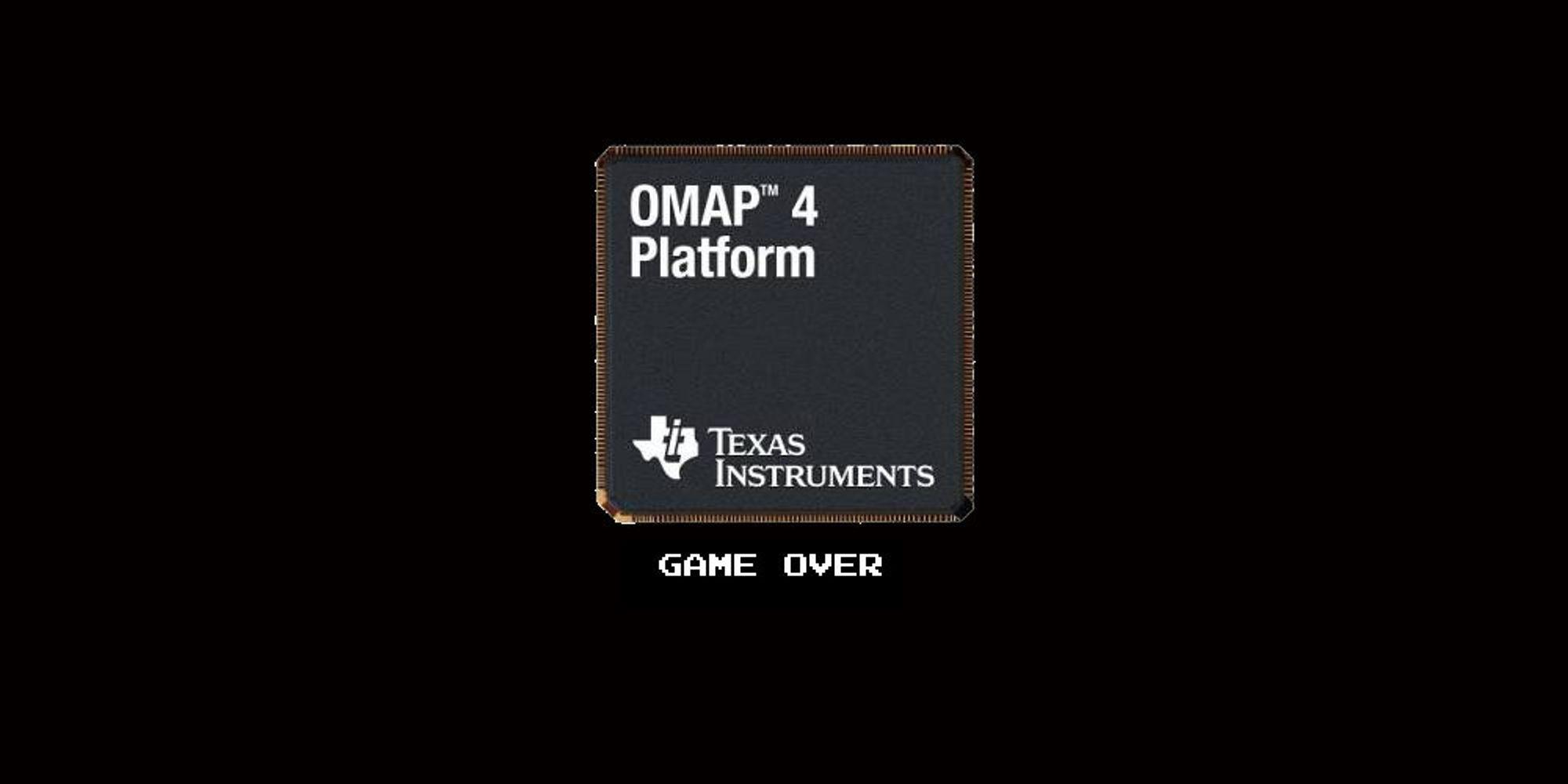 Texas Instruments gir opp mobil