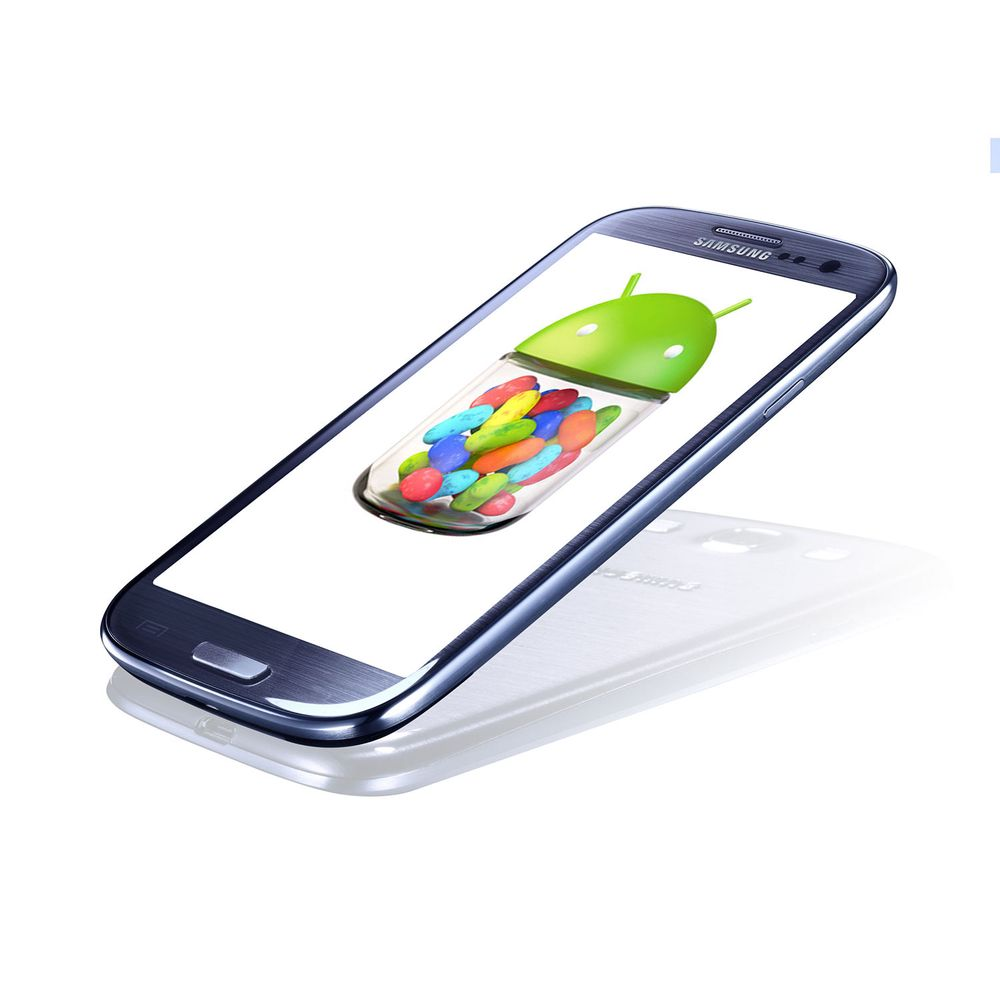 Android 4.1 for S III er i anmarsj