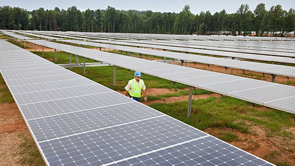 USAs største solpark skal drive iCloud