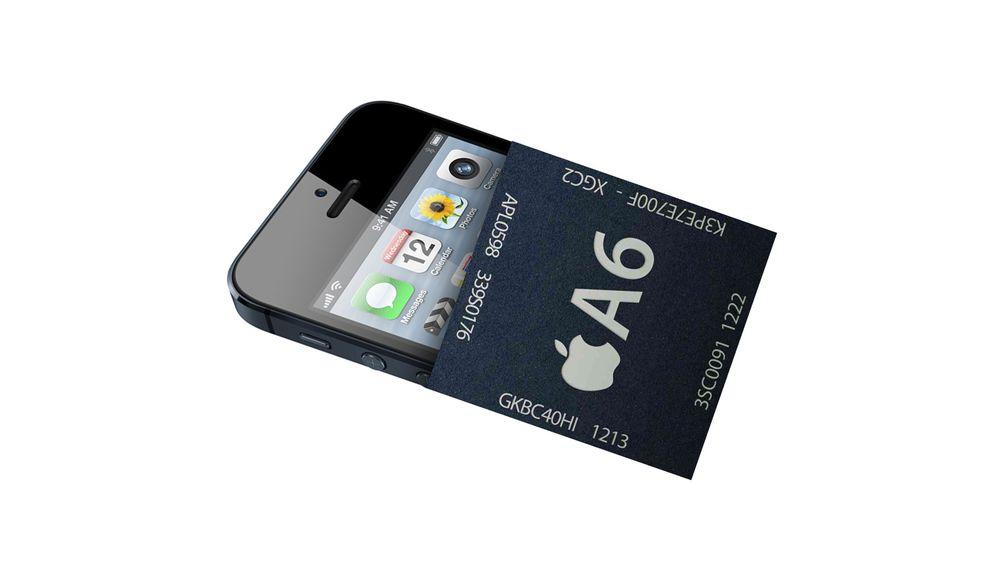 iPhone 5 sin A6-brikke har 1 GB minne