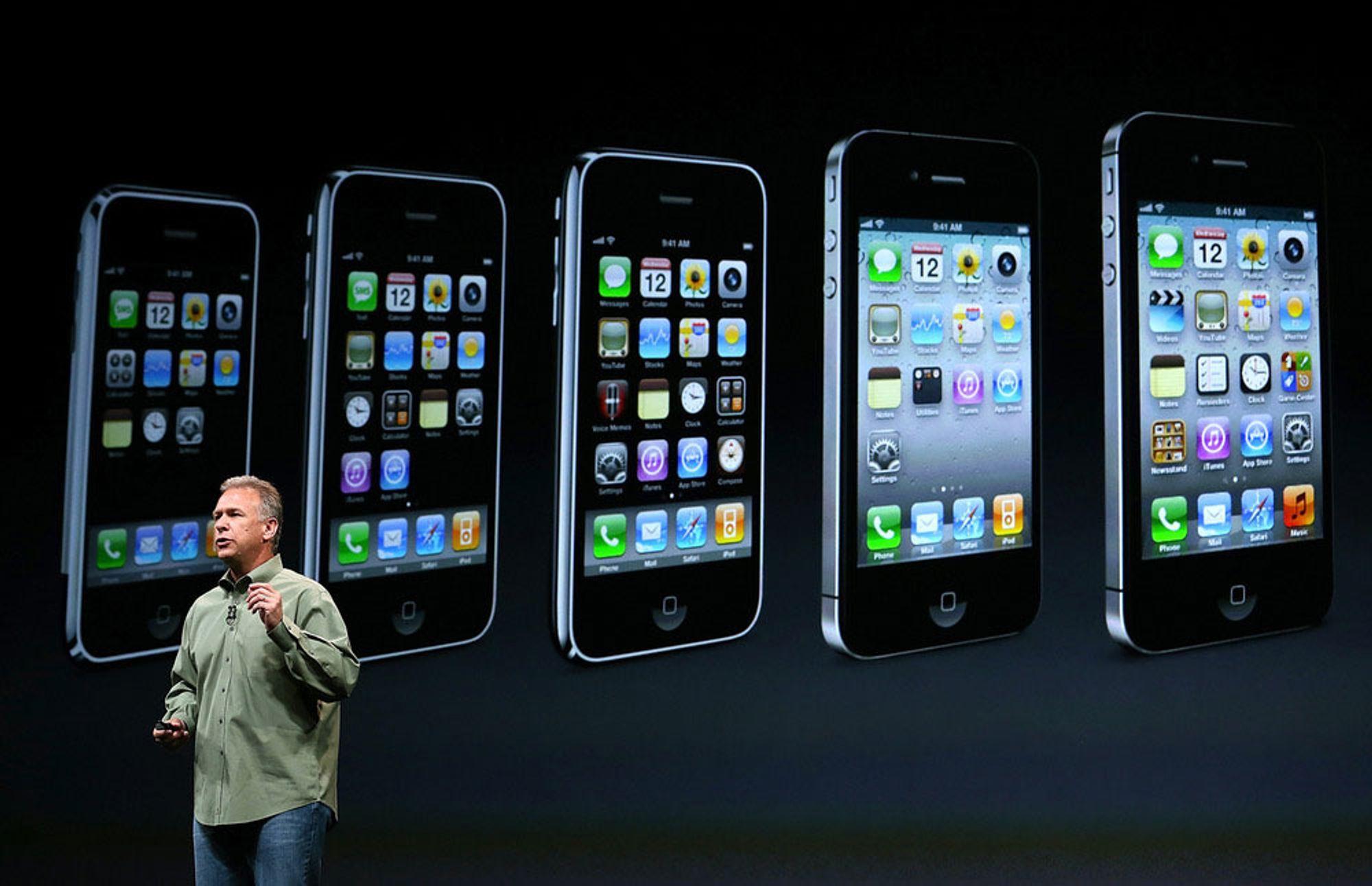 iPhone 5 satt ny salgsrekord