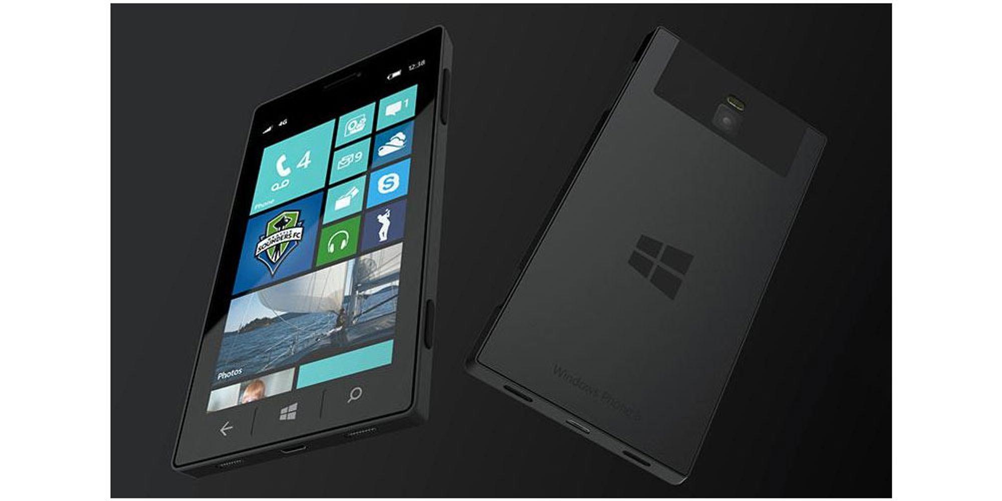 Lager Microsoft sin egen mobil?
