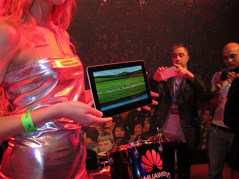 Huawei-brett med skarp skjerm og sterk prosessor