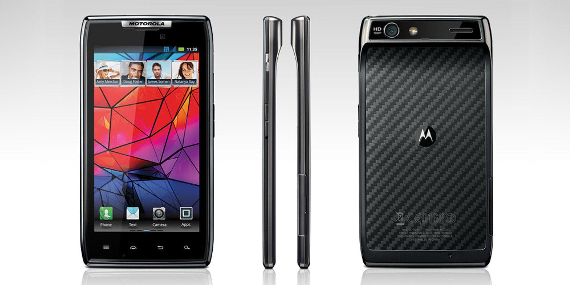 Tokjerneslaget: Motorola XT910 Razr