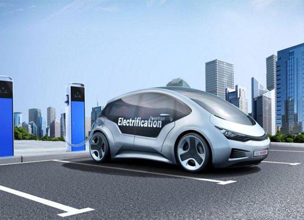 Dobbelt så langt: Sammen med to japanske partnere utvikler Bosch ny batteriteknologi som kan doble elbilenes kjørelengde uten å øke vekten eller volumet på batteriet.