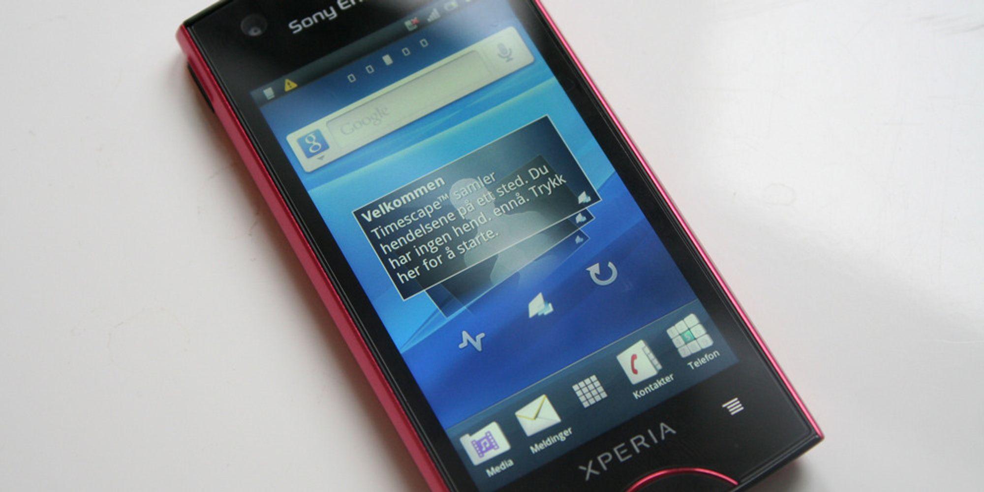 Unboxing av Sony Ericsson Xperia Ray