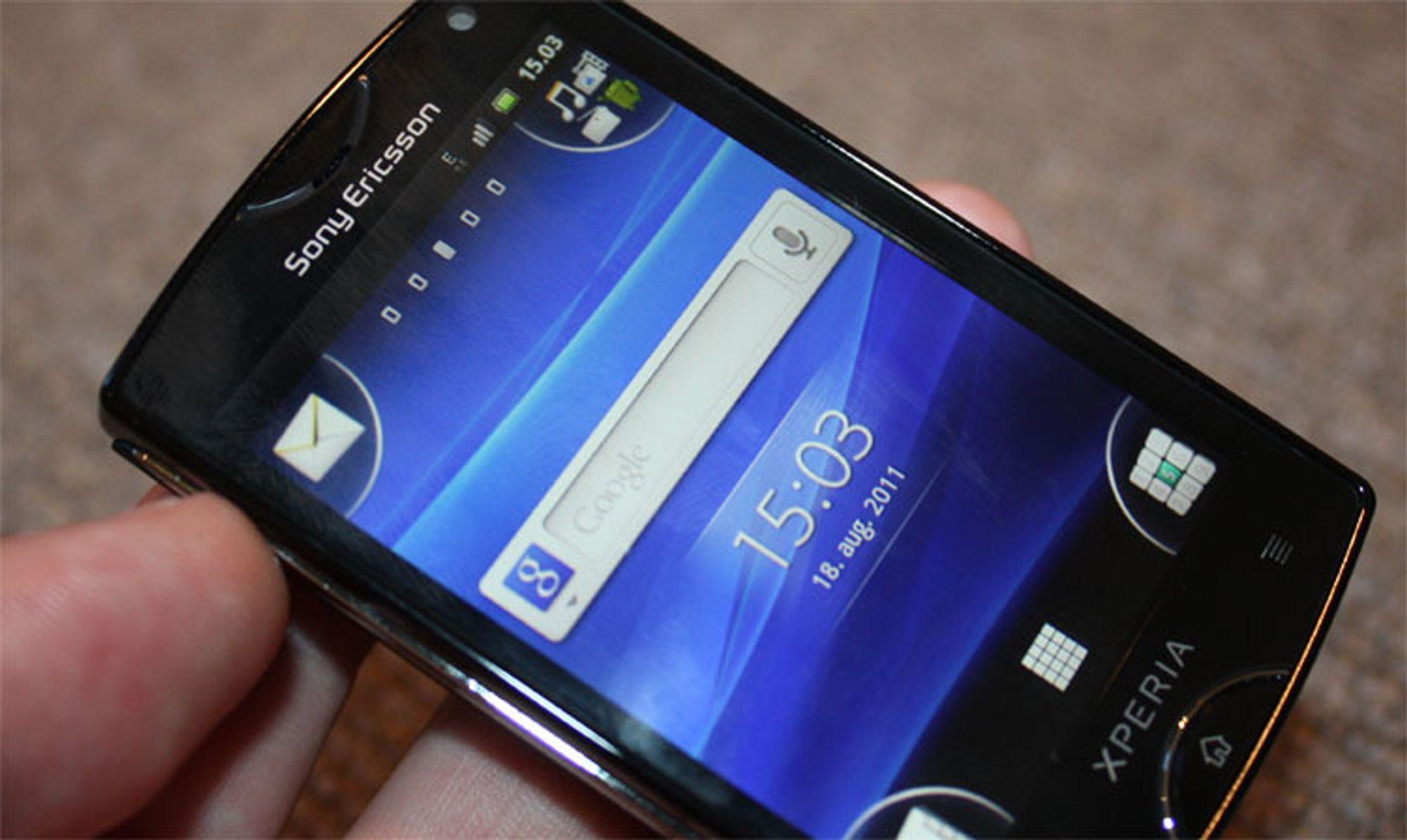 Unboxing av Sony Ericsson Xperia Mini
