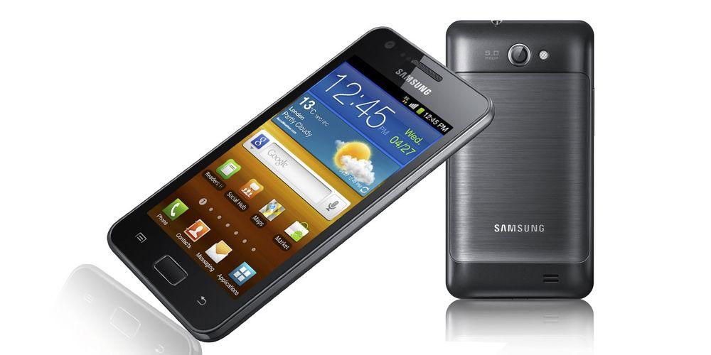 Samsung Galaxy R kommer til Norge