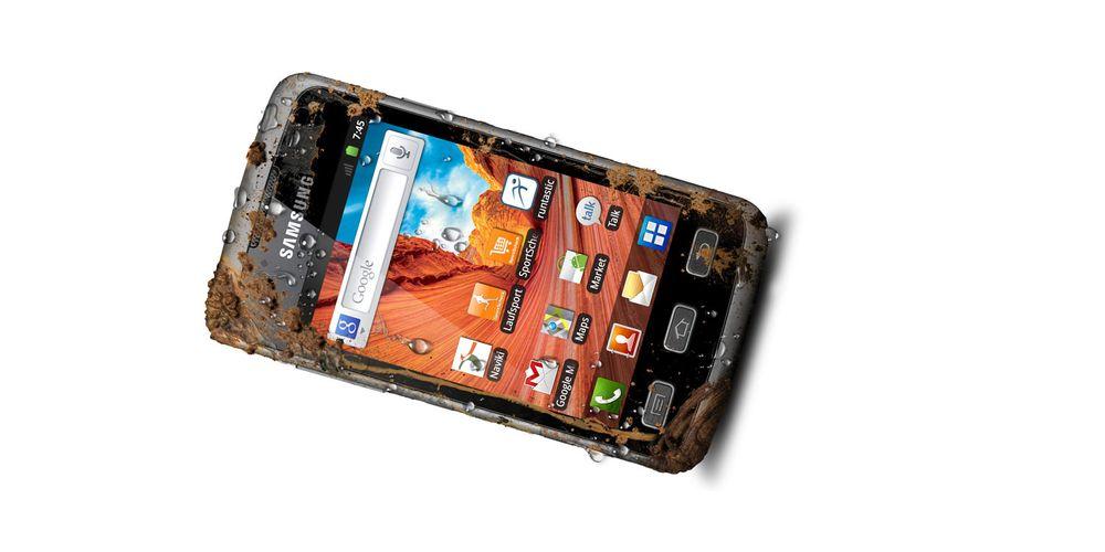 Vanntett Android fra Samsung