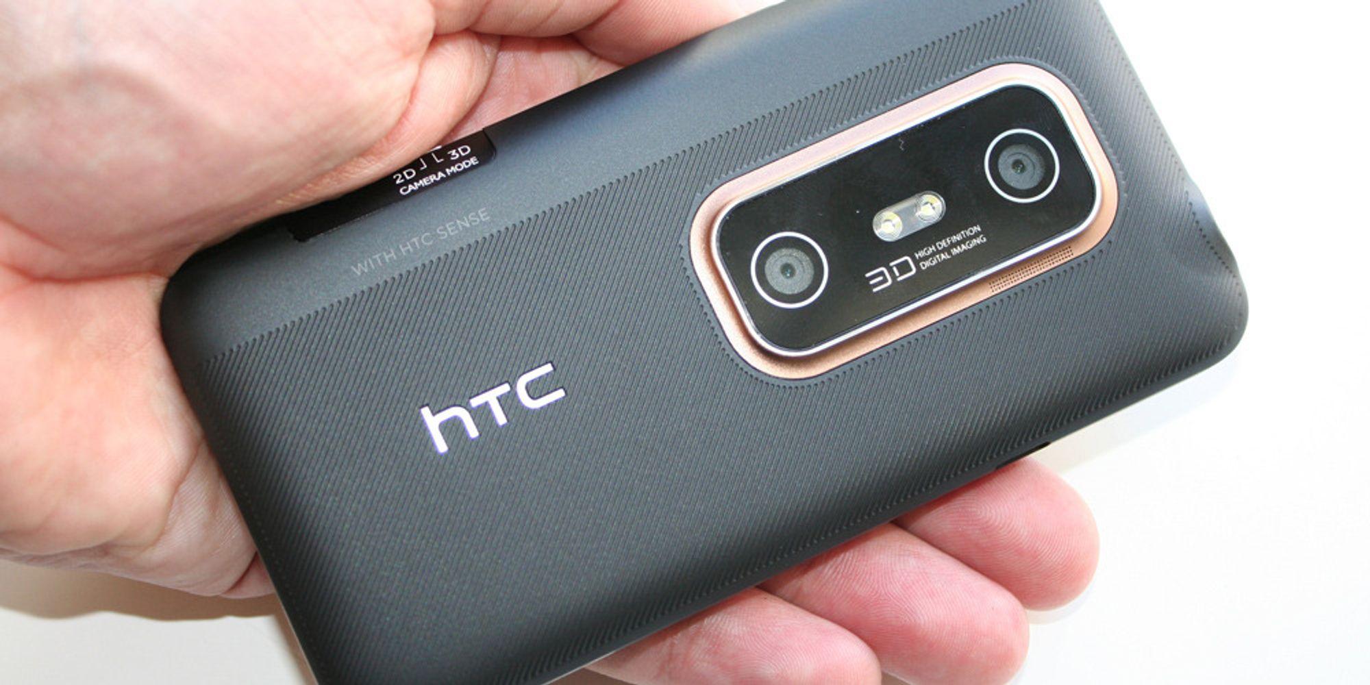 Unboxing av HTC EVO 3D
