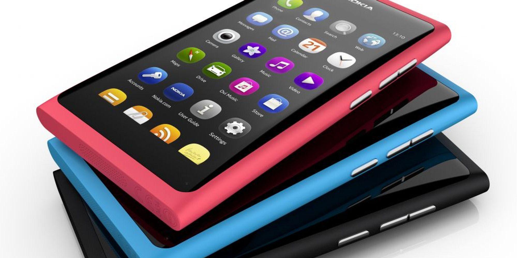 Dropper N9 i USA og UK