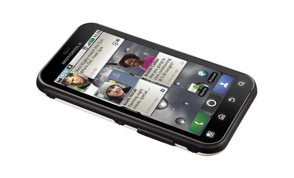 Motorola Defy blir sterkere