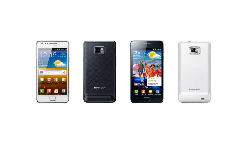 Samsung bekrefter hvit Galaxy S II