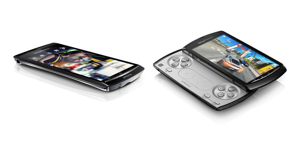 Sony Ericsson Arc og Play oppdateres