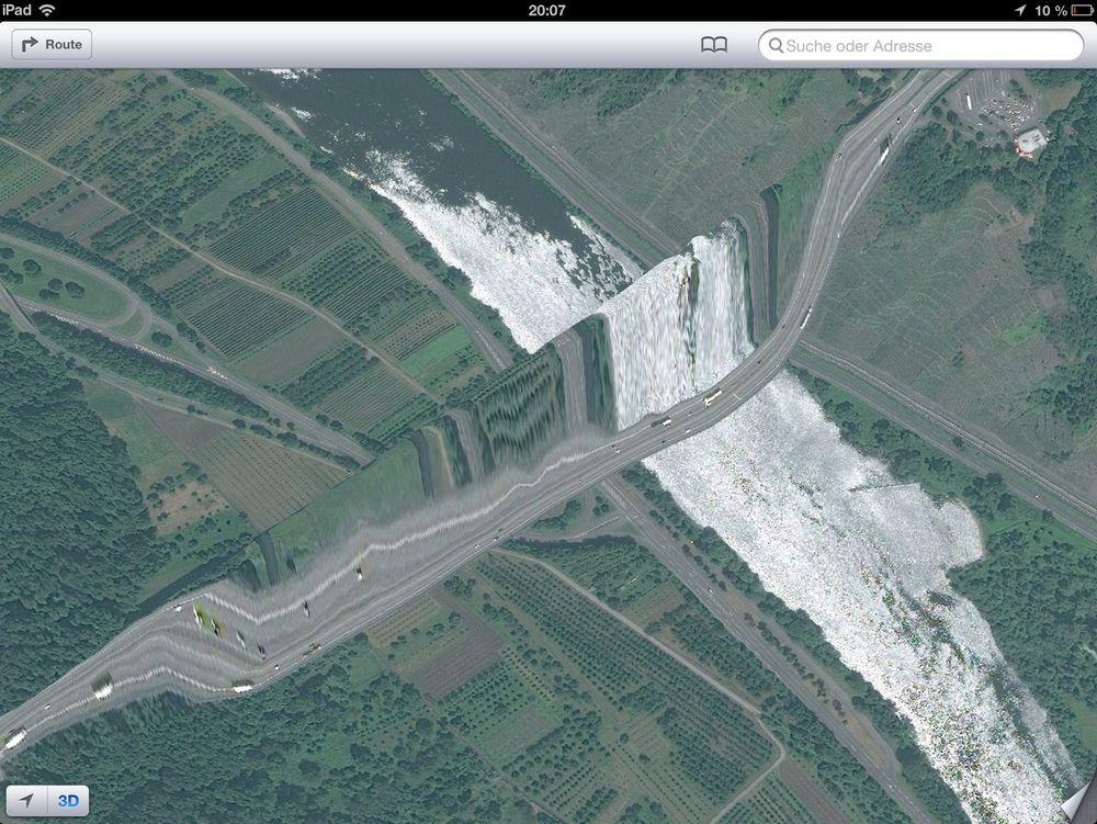Se de fantastiske iOS-kartfeilene