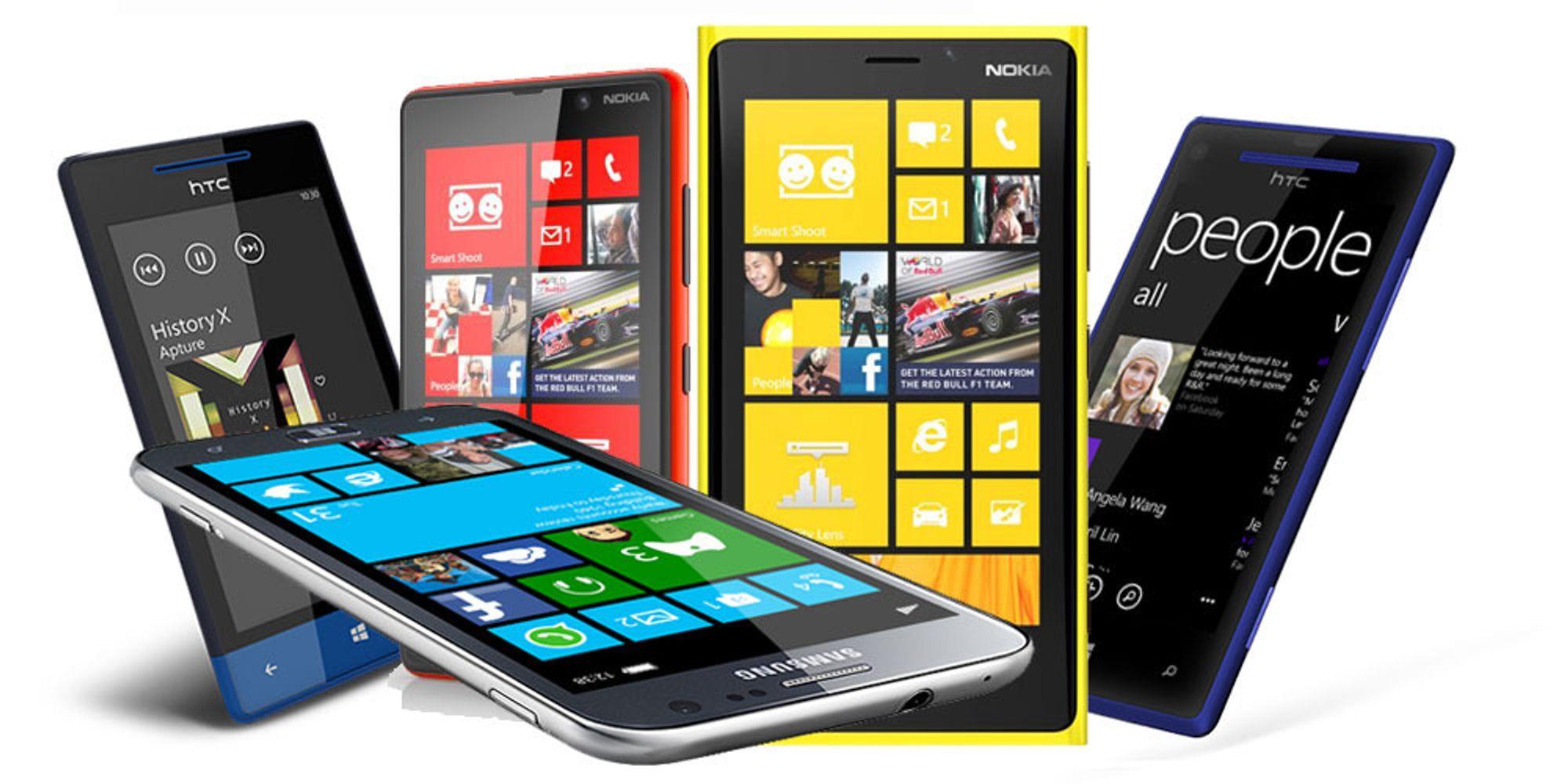 Windows Phone 8-krigen er i gang