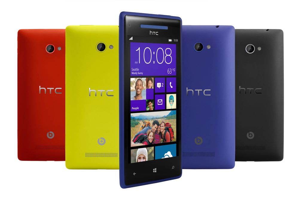 Alt om Windows Phone 8X by HTC