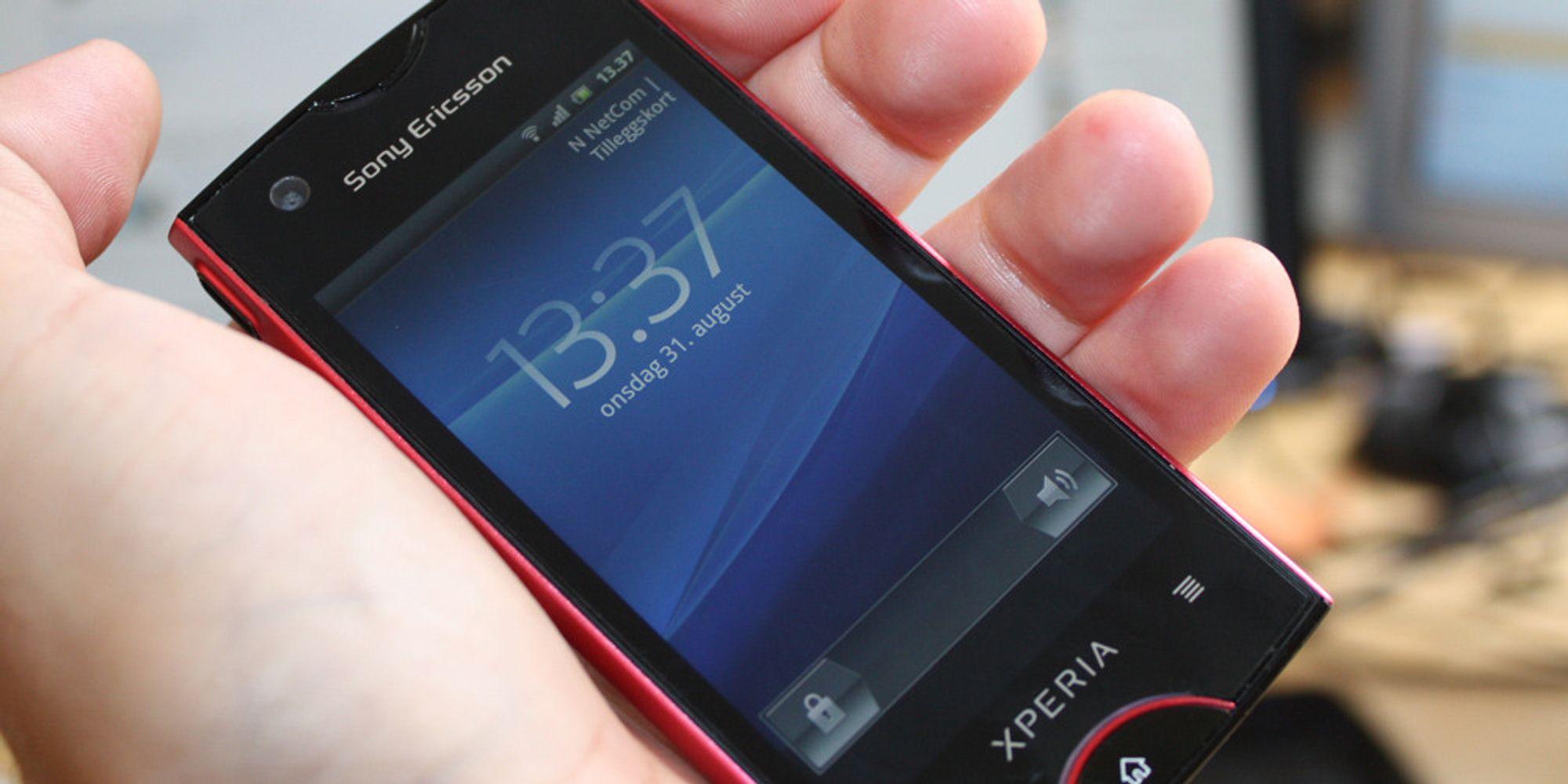 Test av Sony Ericsson Xperia Ray