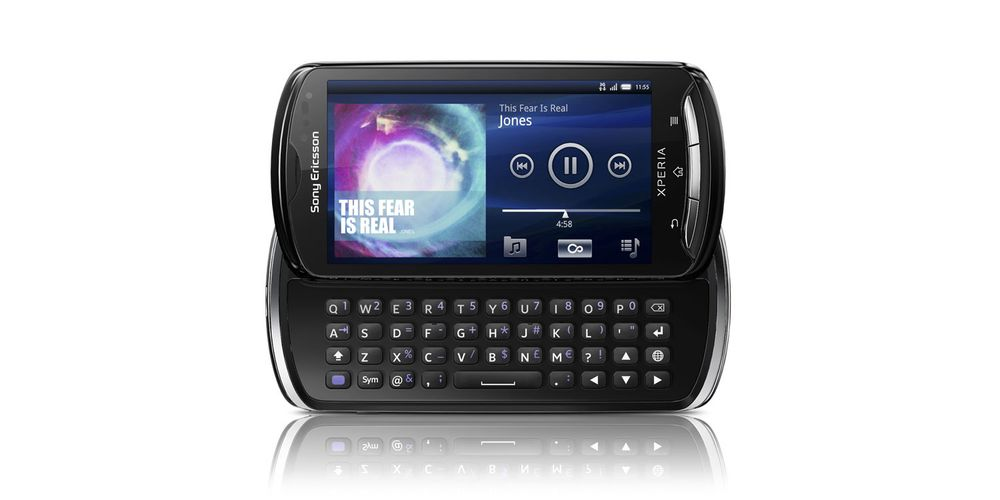 Test av Sony Ericsson Xperia Pro
