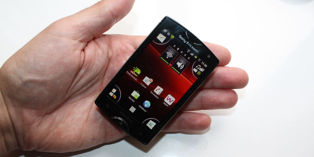 Test av Sony Ericsson Xperia Mini
