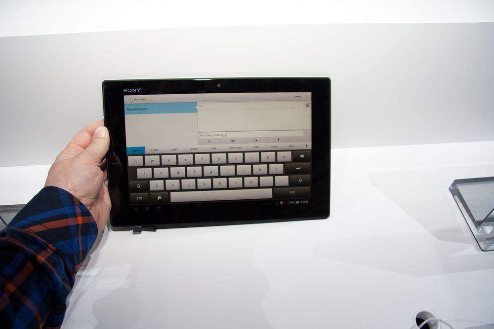 Lyntest: Sony Xperia Tablet Z
