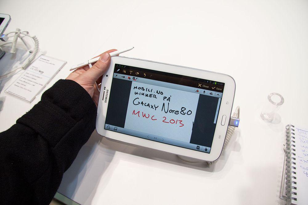 Lyntest: Samsung Galaxy Note 8.0
