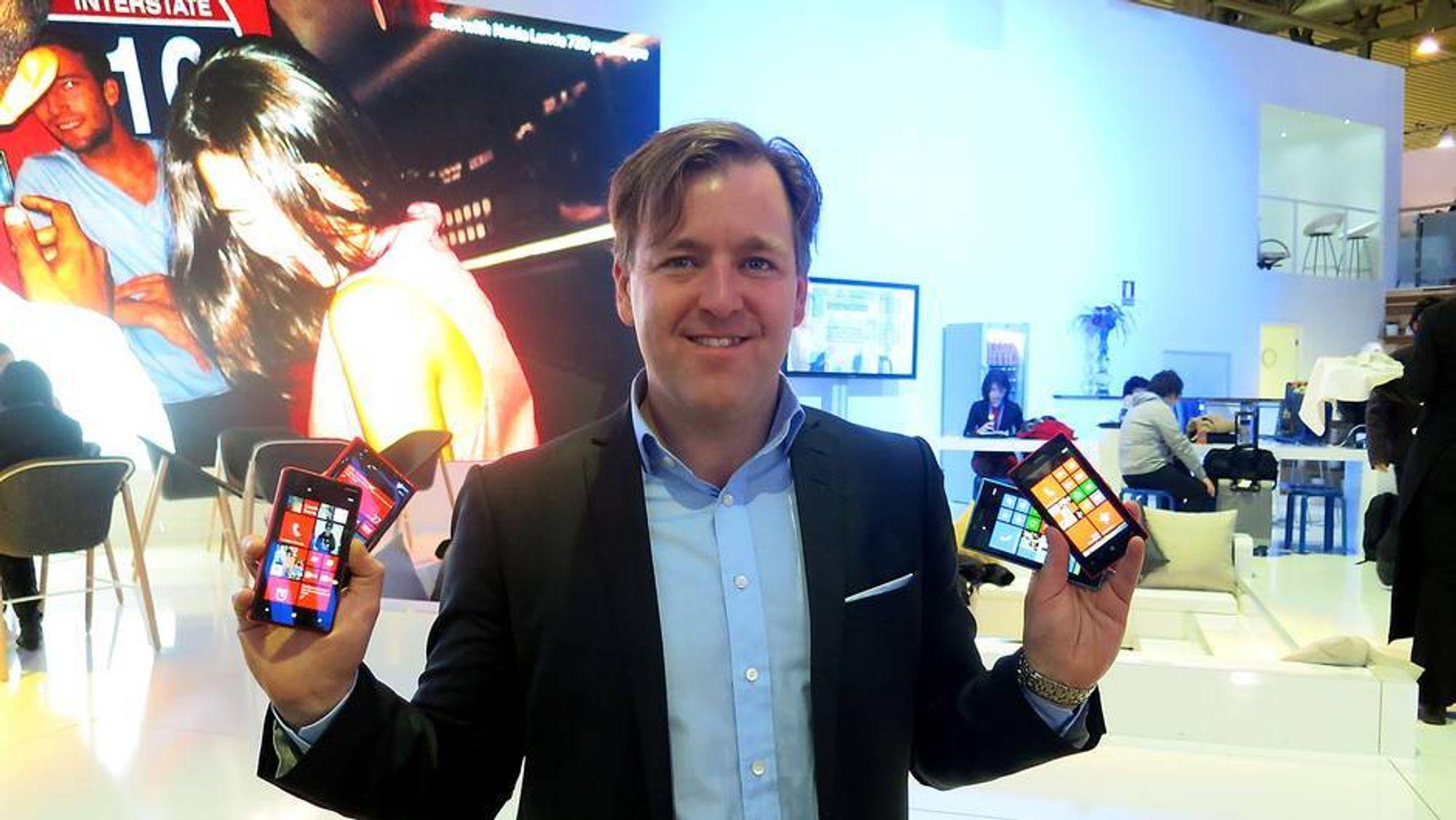 Slik skal Nokia ta tilbake Norden