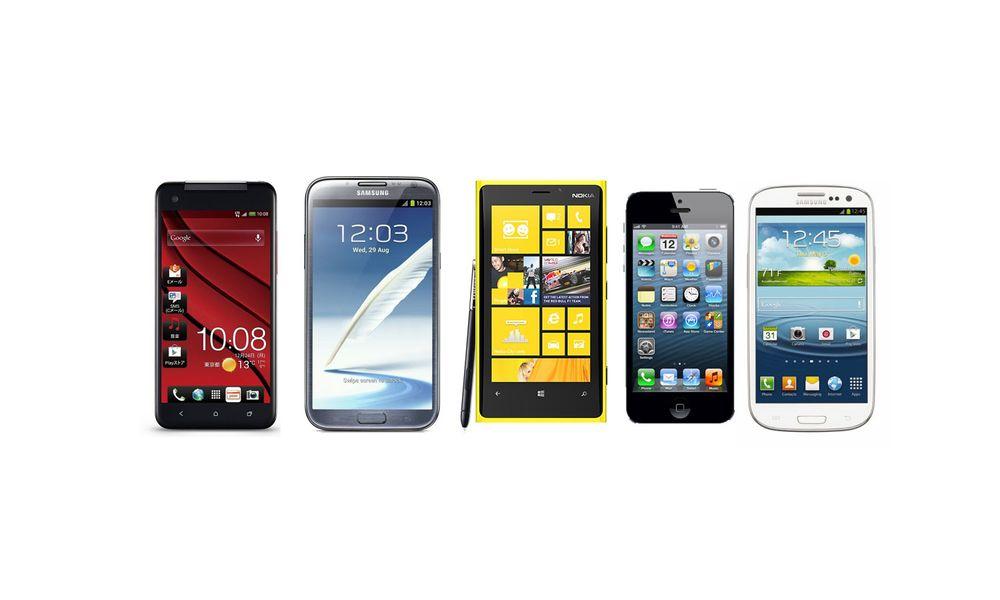 En av disse blir årets mobil