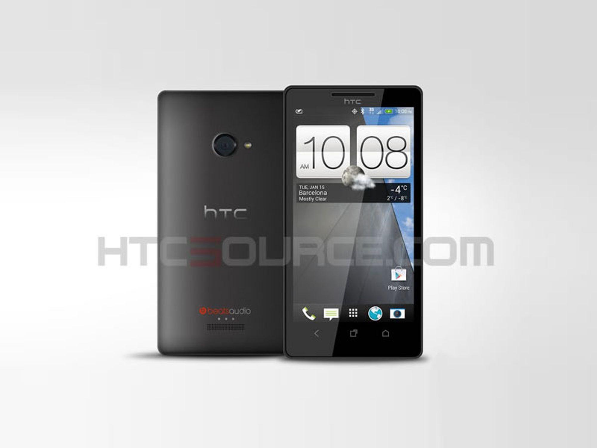 HTC-flaggskipet tilgjengelig i mars